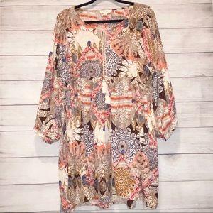 UMGEE Boho Mini Dress